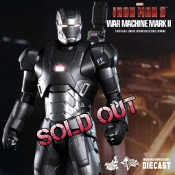 War Machine Mark II - Iron Man 3 - Diecast 1/6 Scale Figur