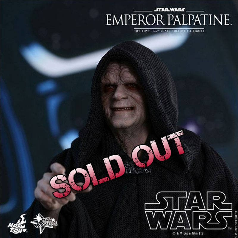 Emperor Palpatine - Star Wars Episode VI - 1/6 Scale Figur