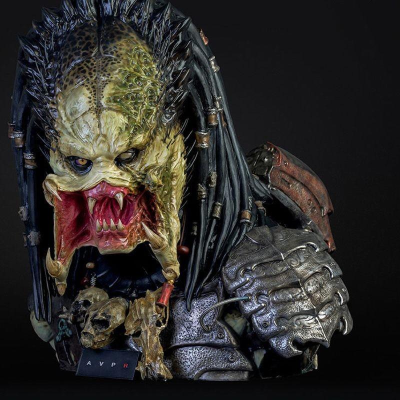 Wolf Predator - Aliens vs Predator Requiem - Life-Size Bust