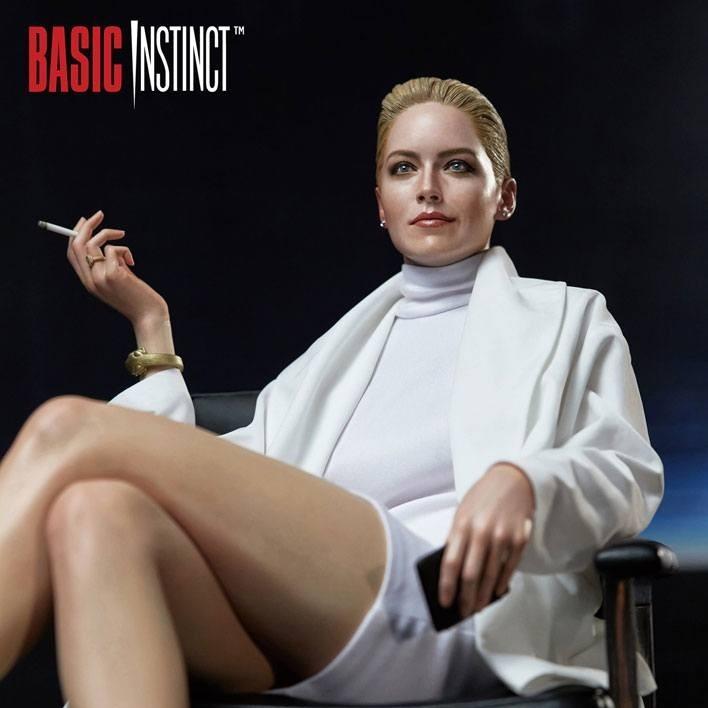 Sharon Stone (Catherine Tramell) - Basic Instinct - 1/4 Superb Scale Hybrid Statue