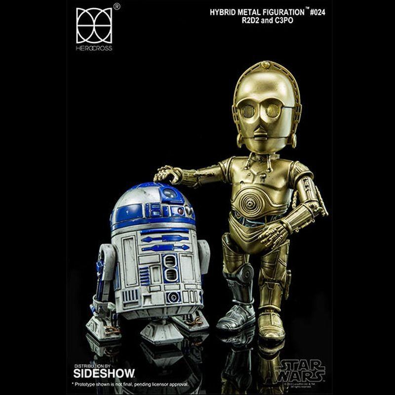 R2D2 & C-3PO - Star Wars - Hybrid Metal Figuration
