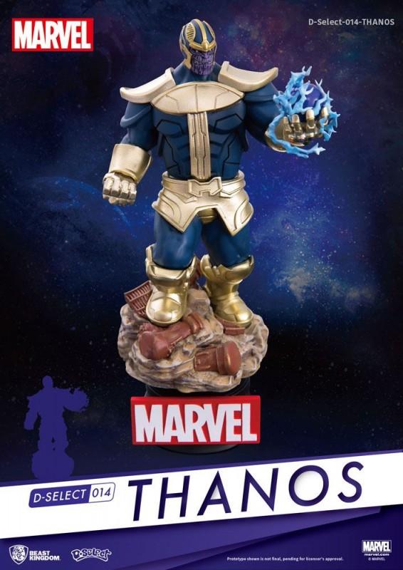 Thanos - D-Select PVC Diorama 14 cm