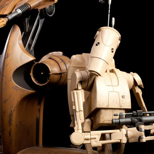 S.T.A.P. Vehicle+Battle Droid - Star Wars - 1/6 Scale