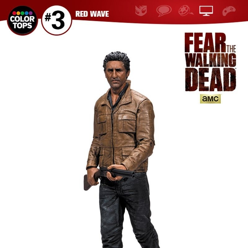 Travis Manawa - Fear The Walking Dead - Color Tops Actionfigur