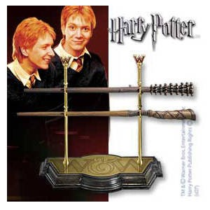 Zauberstab-Kollektion der Weasley Zwillinge - Harry Potter - 1/1 Replik