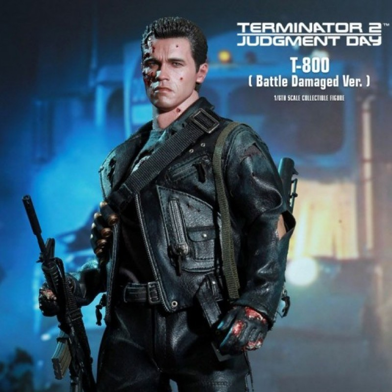T-800 DX Battle Damaged - Terminator - 1/6 Figur