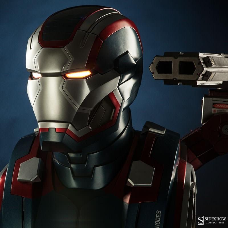 Iron Patriot - Iron Man 3 - Life-Size Büste