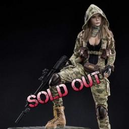 MC Camouflage Women Soldier Villa - 1/6 Scale Actionfigur
