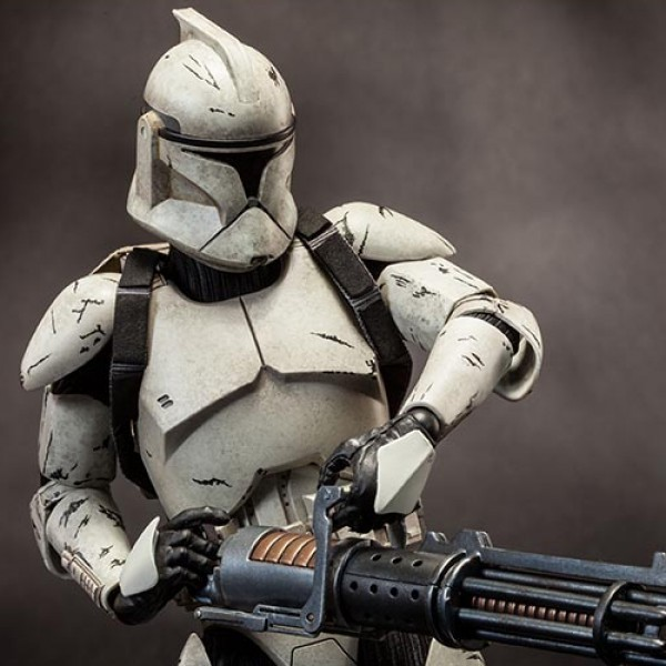 Veteran Clone Trooper Deluxe - Star Wars - 1/6 Scale