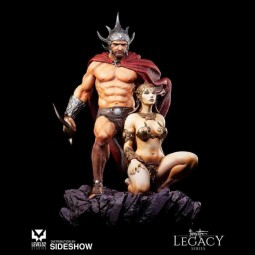 The Swordsman of Mars - Frazetta Legacy Series 1/4 Scale Statue