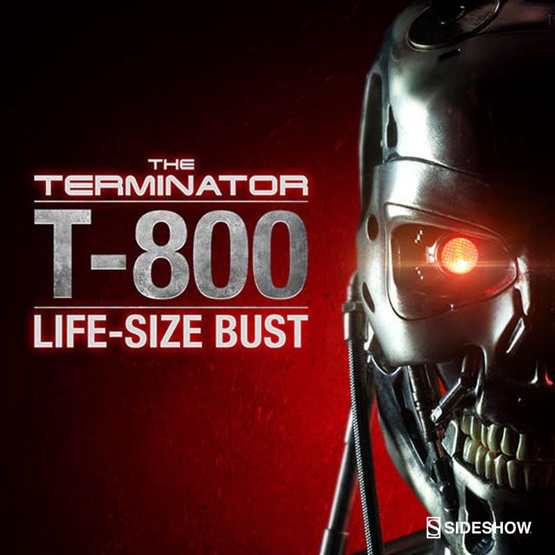 T-800 - Terminator - Life-Size Büste