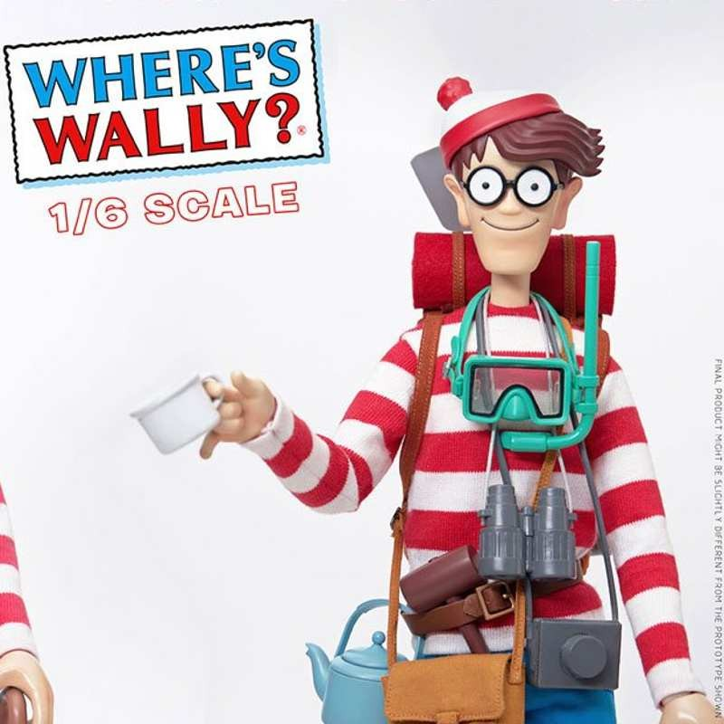 Wally - Wo ist Walter? - 1/6 Scale Mega Hero Actionfigur