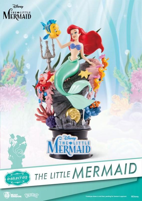 Arielle die Meerjungfrau - D-Select PVC Diorama 15 cm