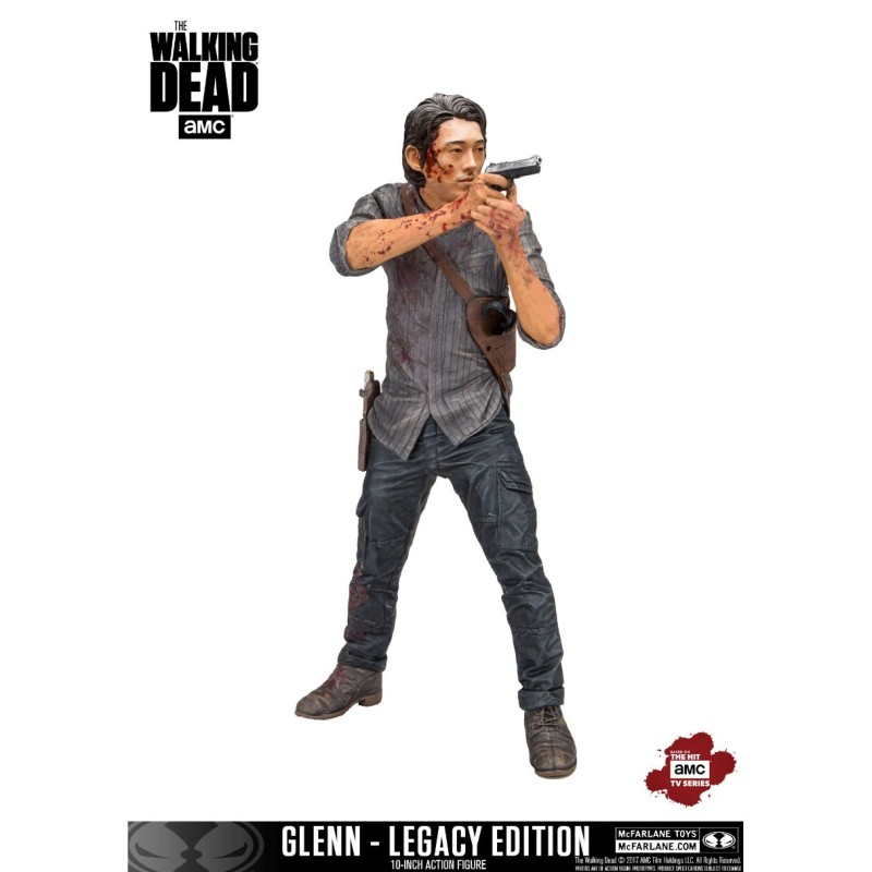 Glenn Legacy Edition - The Walking Dead - Deluxe Actionfigur