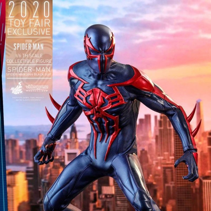 Spider-Man (Spider-Man 2099 Black Suit) - Marvel's Spider-Man - 1/6 Scale Figur