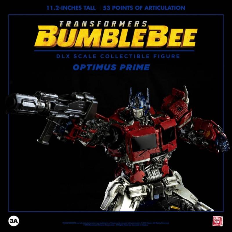 Optimus Prime - Bumblebee - DLX Scale Actionfigur