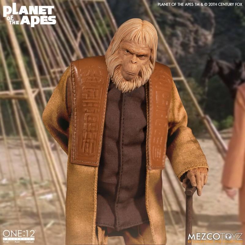 Dr. Zaius - Planet der Affen - 1/12 Scale Figur