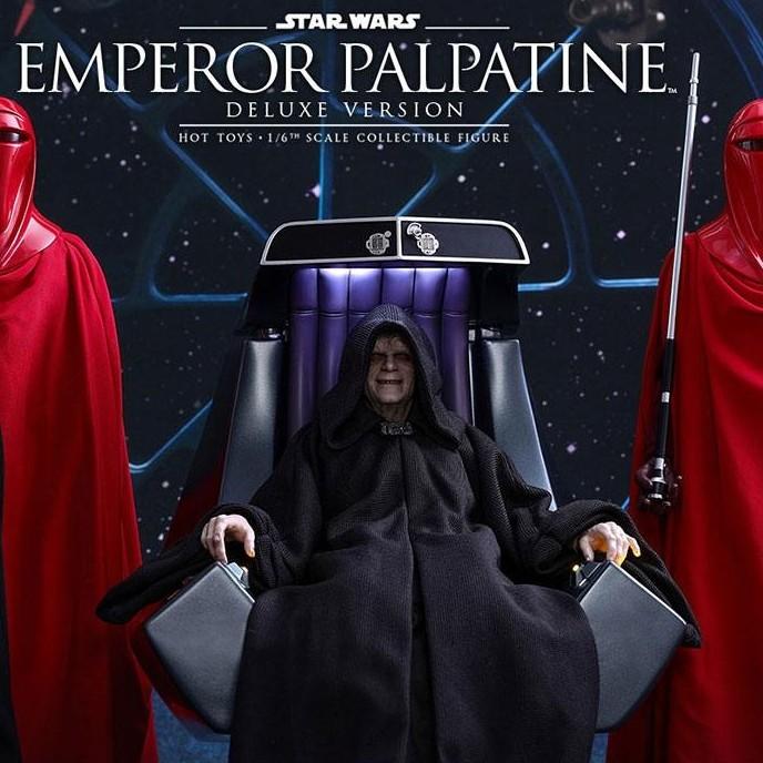 Emperor Palpatine Deluxe Version - Star Wars Episode VI - 1/6 Scale Figur