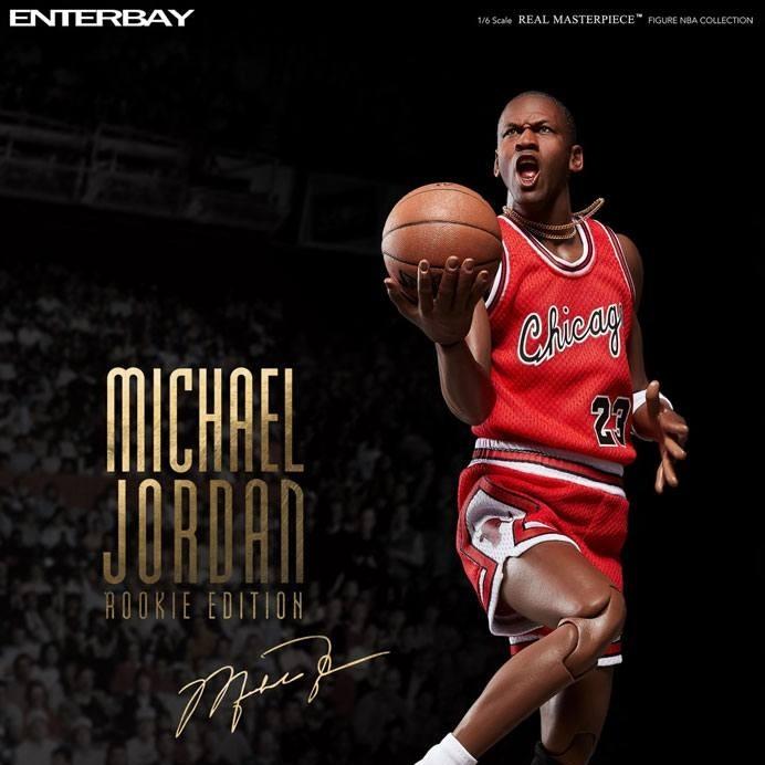 Michael Jordan (Rookie Edition) - NBA - 1/6 Scale Action Figur