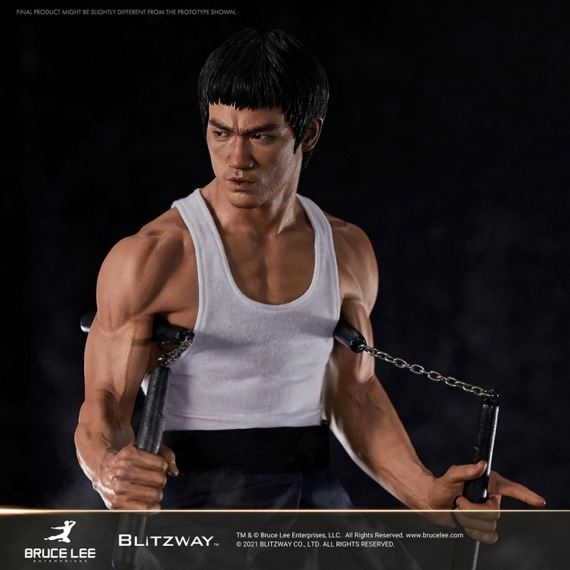 Bruce Lee Tribute Version 4 - 1/4 Superb Scale Statue