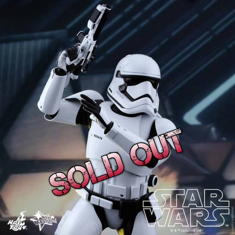 First Order Stormtrooper - Star Wars - 1/6 Scale Figur