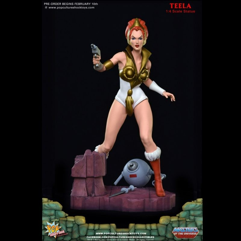 Teela - Master of the Universe - 1/4 Scale Statue