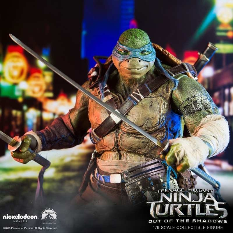 Leonardo - TMNT (Out of the Shadows) - 1/6 Scale Action Figur