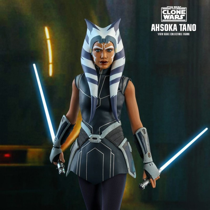 Ahsoka Tano - Star Wars The Clone Wars - 1/6 Scale Figur