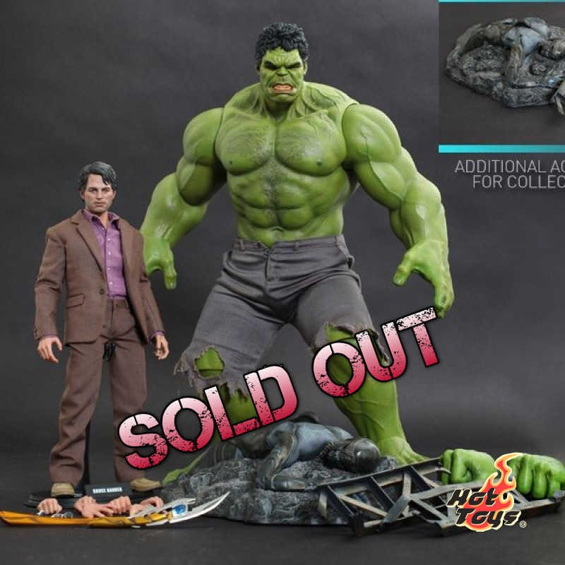 Bruce Banner and Hulk - 1/6 Scale Action Figuren