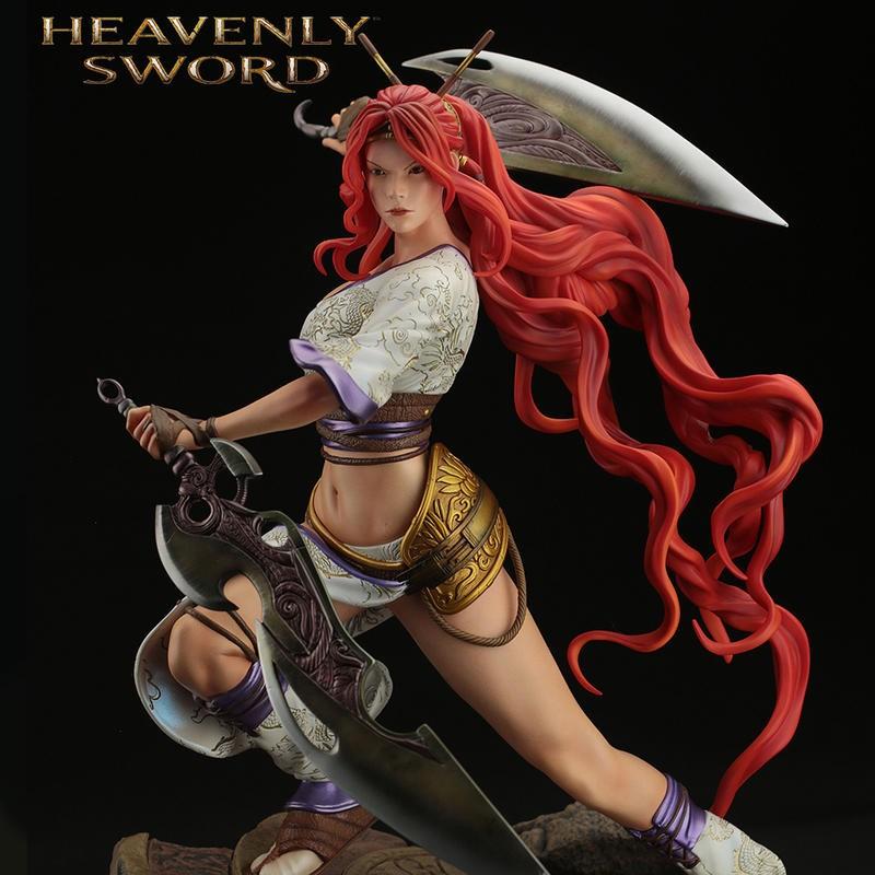 Nariko - Heavenly Sword - 1/4 Scale Statue