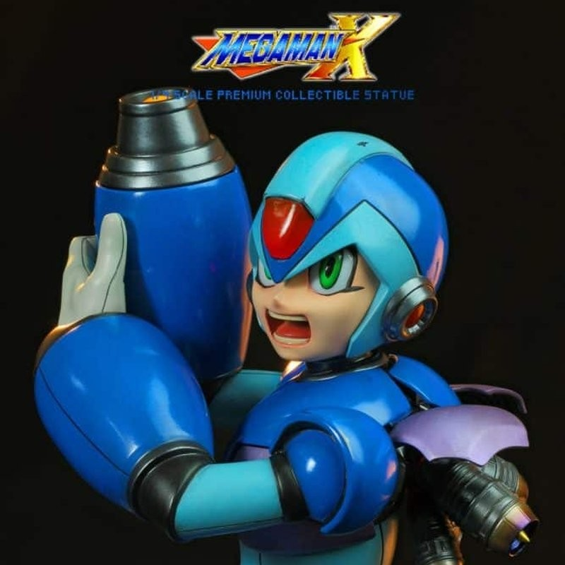 Blue Mega Man - Megaman X - 1/4 Scale Statue