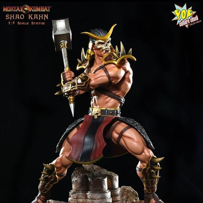 Shao Kahn - Mortal Kombat - 1/4 Scale Statue