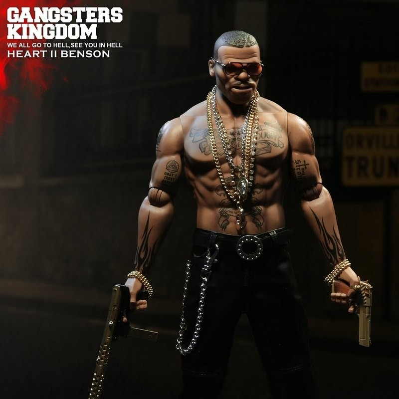 Heart II Benson - Gangster's Kingdom - 1/6 Scale Actionfigur