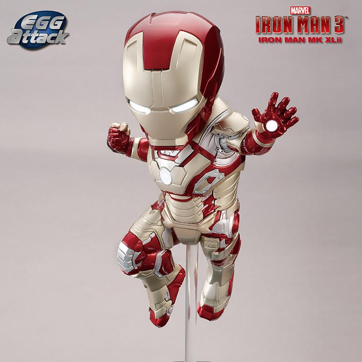 Mark 42 - Iron Man - Egg Attack Figur