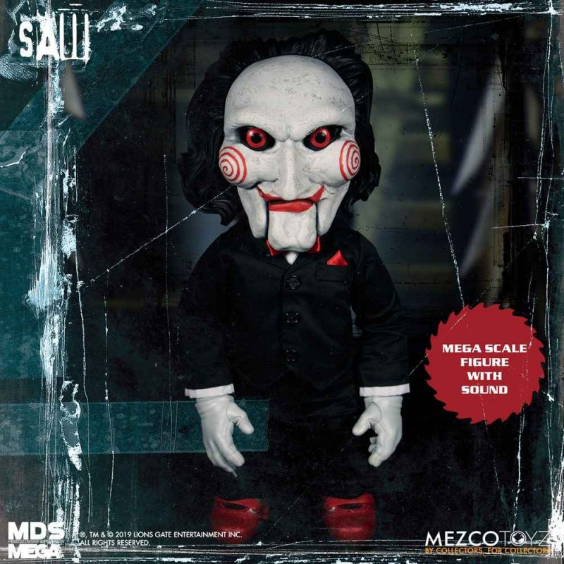 Billy - Saw - Mega Scale Actionfigur