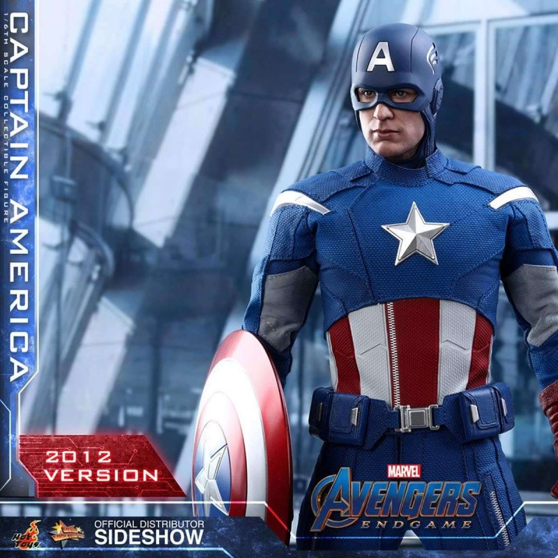 Captain America (2012 Version) - Avengers: Endgame - 1/6 Scale Figur