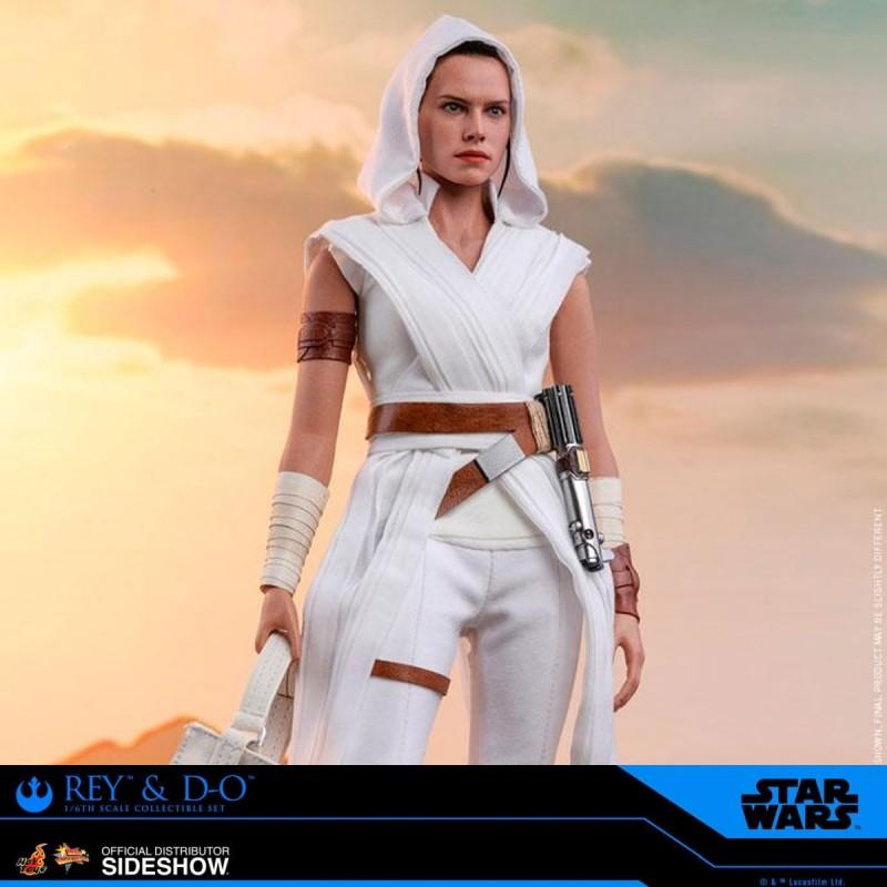 Rey & D-O - Star Wars Episode IX - 1/6 Scale Figuren Set