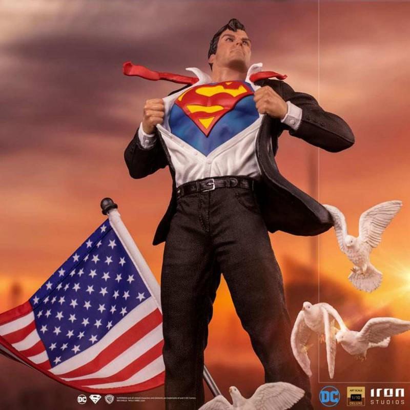 Clark Kent - DC Comics Superman - 1/10 Deluxe Art Scale Statue