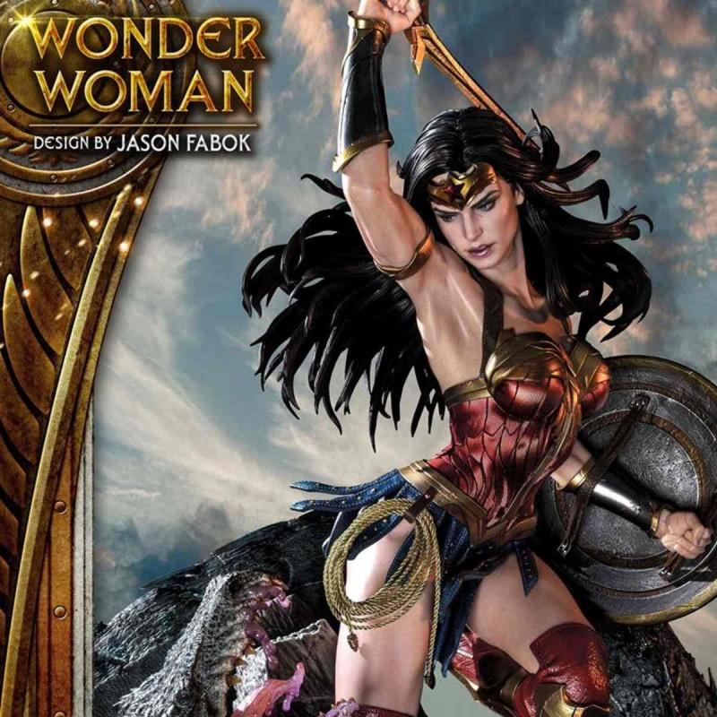 Wonder Woman vs. Hydra - Wonder Woman - 1/3 Scale Statue