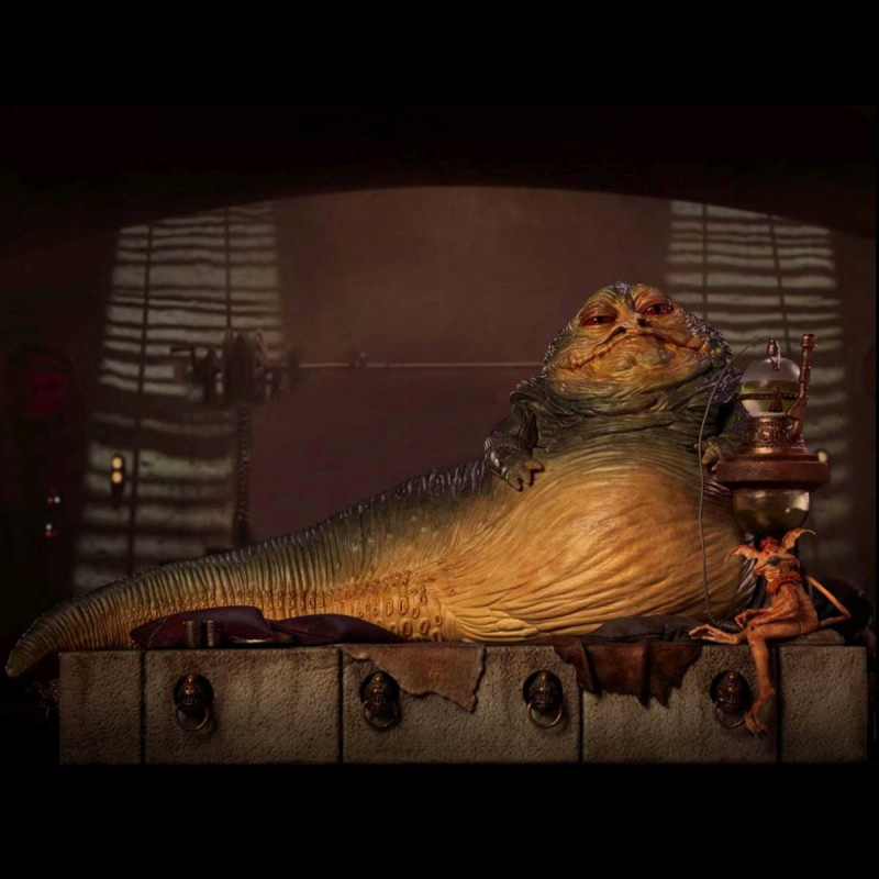 Jabba The Hutt - Star Wars - Deluxe Art Scale 1/10 Statue