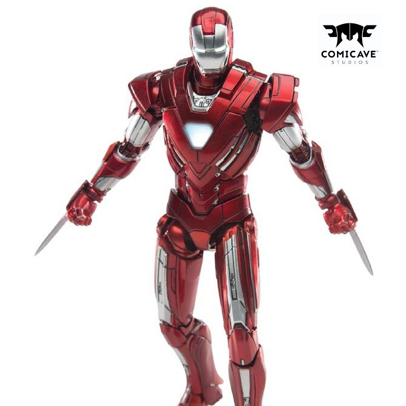 Iron Man Mark XXXIII (Silver Centurion) - 1/12 Scale Diecast Actionfigur