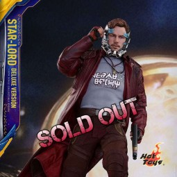 Star-Lord Deluxe Ver. - Guardians of the Galaxy Vol. 2 - 1/6 Scale Figur