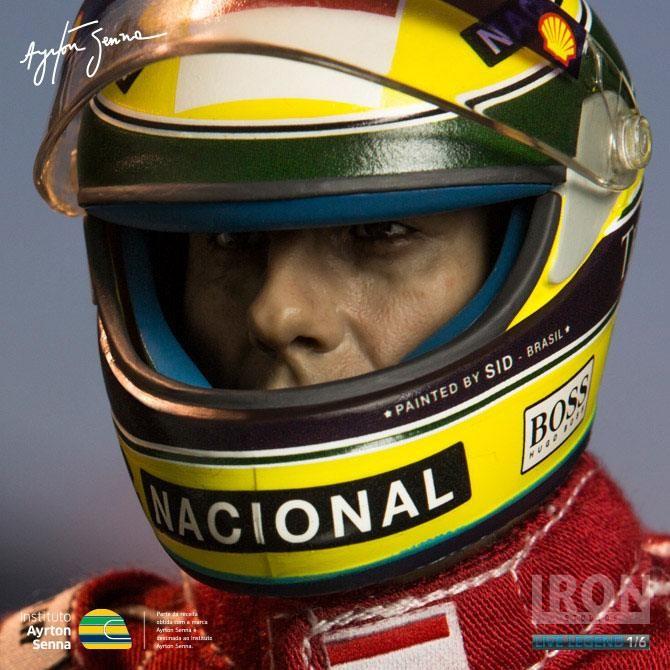 Ayrton Senna - GP São Paulo 1993 - 1/6 Scale Actionfigur