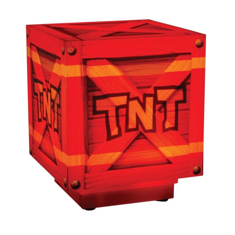 TNT - Crash Bandicoot - 3D Lampe mit Soundfunktion