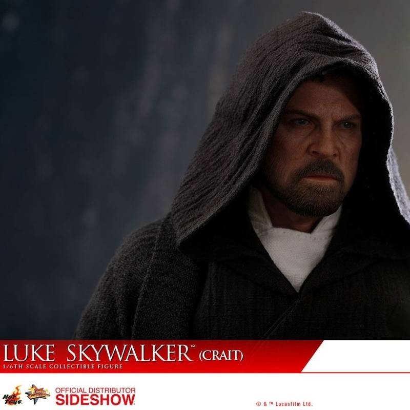 Luke Skywalker Crait - Star Wars: The Last Jedi - 1/6 Scale Figur