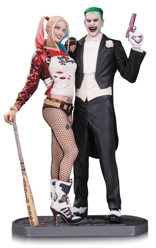 Joker & Harley Quinn - Suicide Squad - Resin Statue