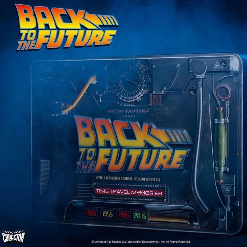 Time Travel Memories Kit Plutonium Edition - Zurück in die Zukunft - Sammlerbox