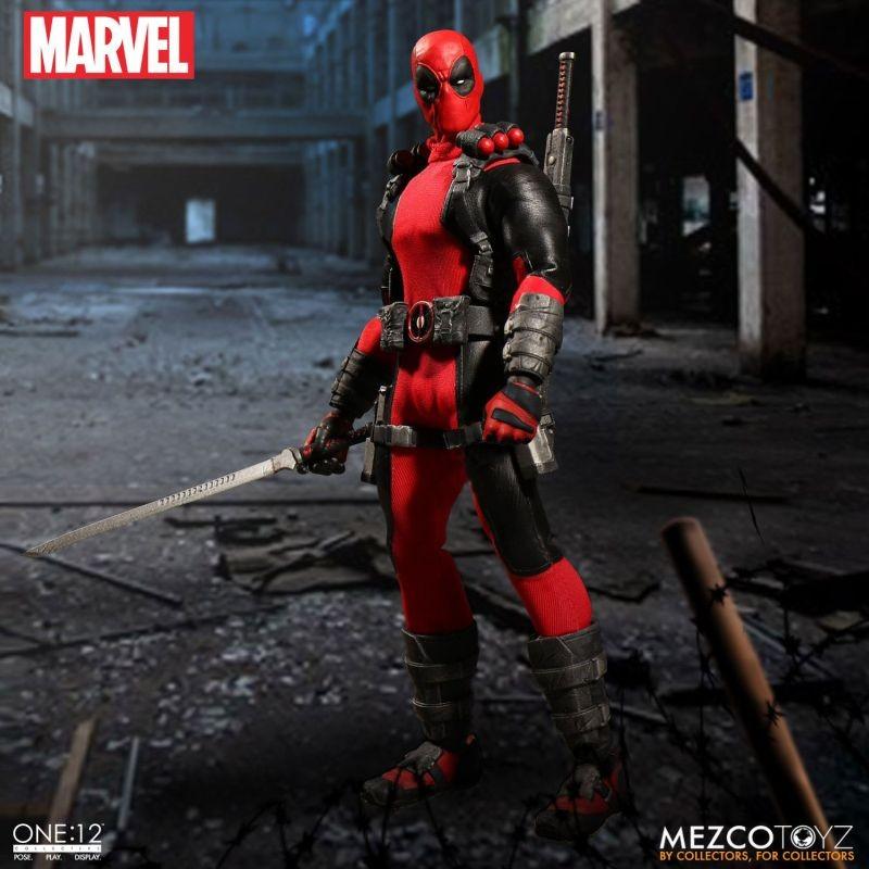 Deadpool - Marvel Universe - 1/12 Scale Figur