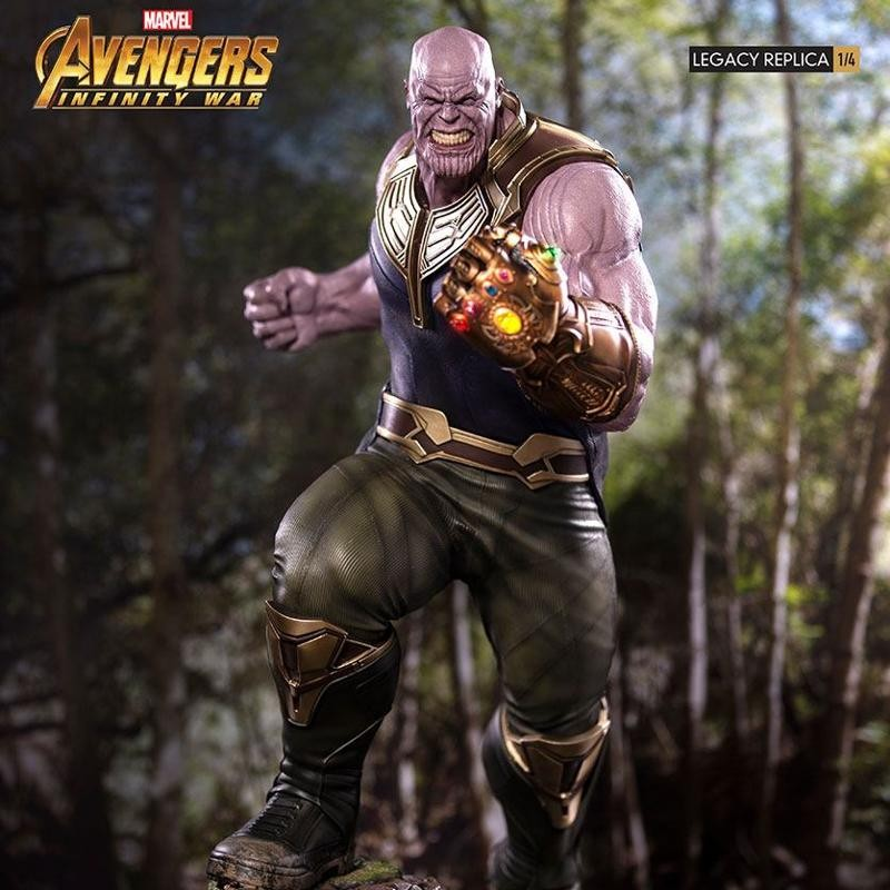 Thanos - Avengers Infinity War - 1/4 Scale Legacy Replica Statue
