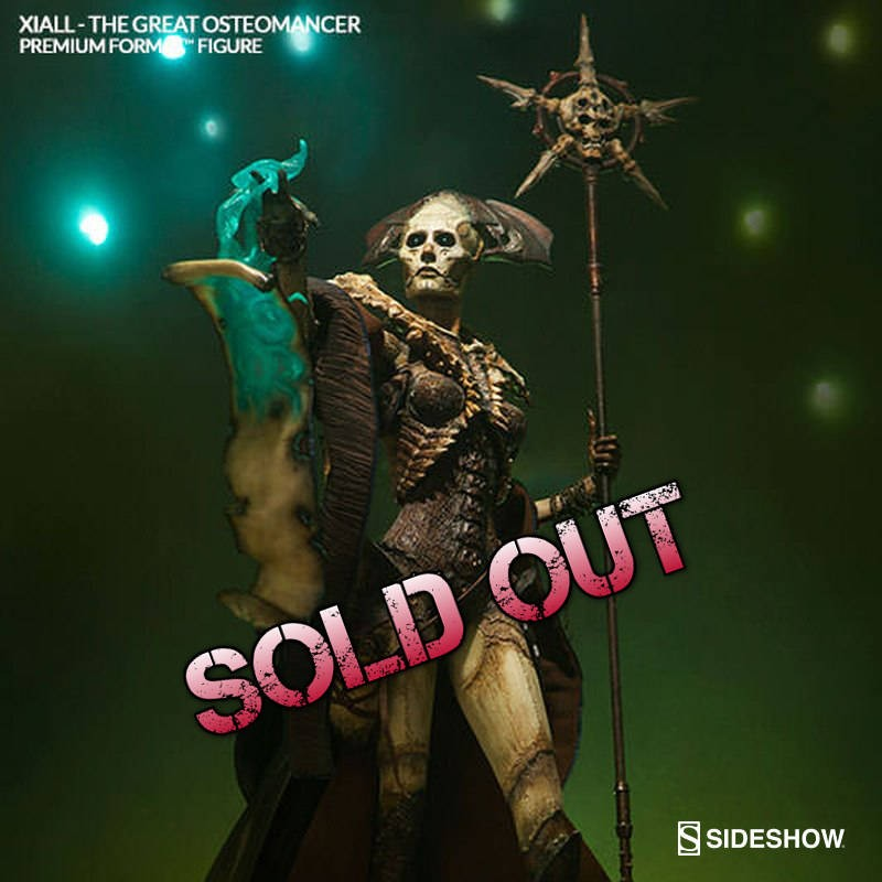 Xiall The Great Osteomancer - Premium Format Statue